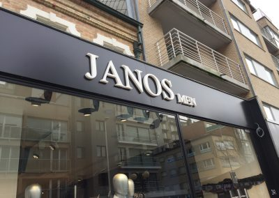 3D letters Janos extra