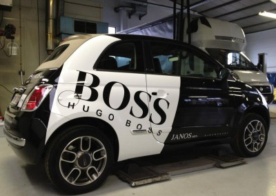 belettering wagen Quicksign