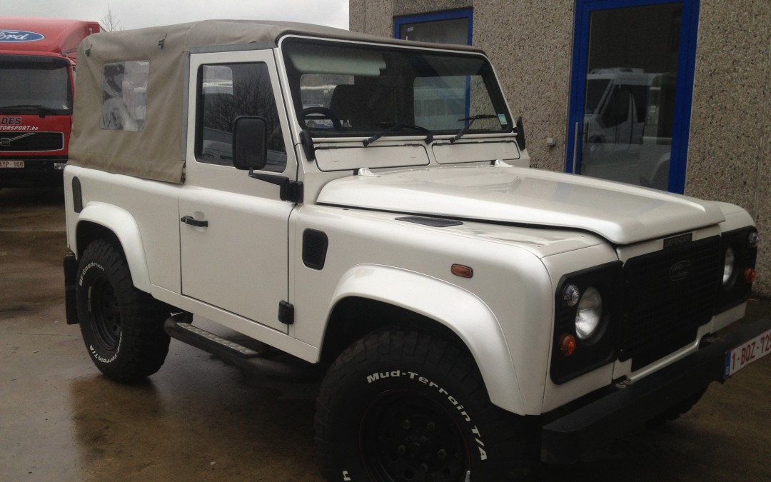 Carwrapping – Land Rover Defender