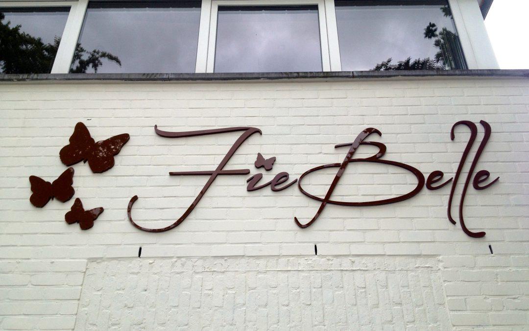 3D letters – Fie Belle
