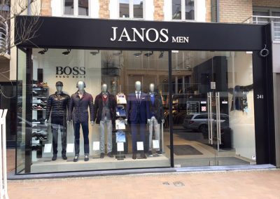 3D letters Janos men 2