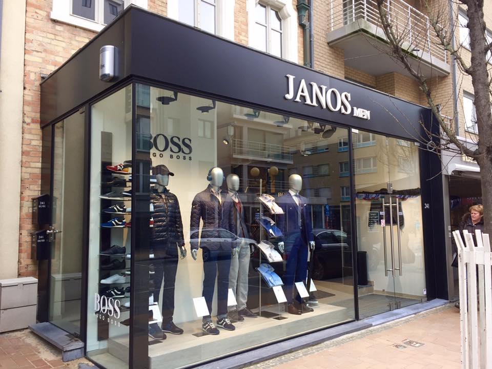 Quicksign 3D letters Janos men