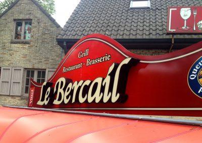 3D letters Le Bercail 1