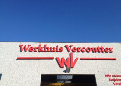 3D letters Werkhuis Vercoutter 2