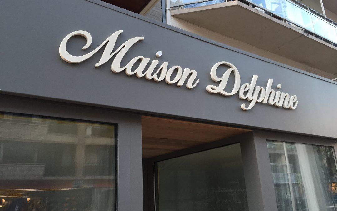 3D letters – Maison Delphine
