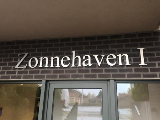 3D letters – Zonnehaven