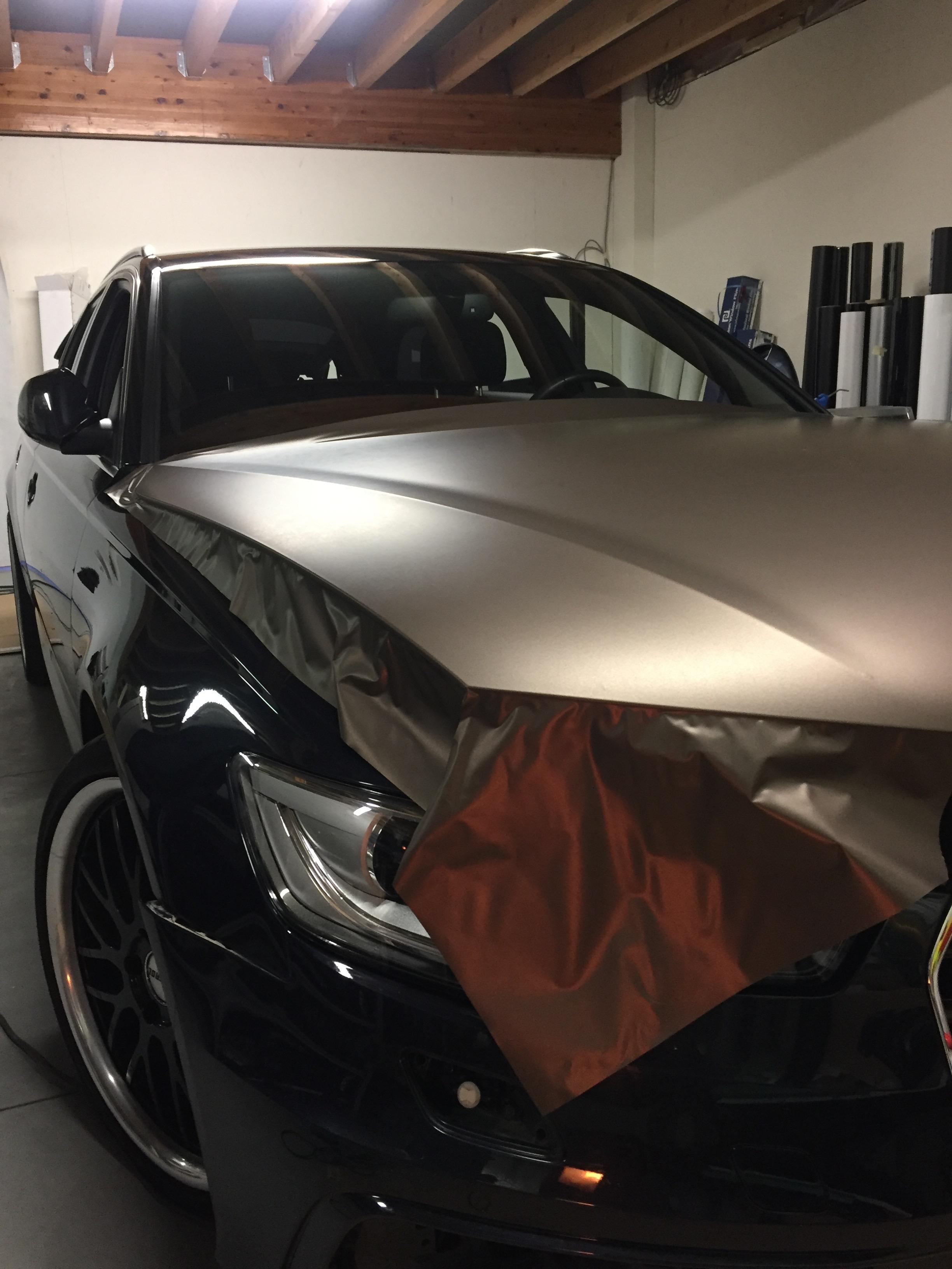 Carwrap Audi A6 1