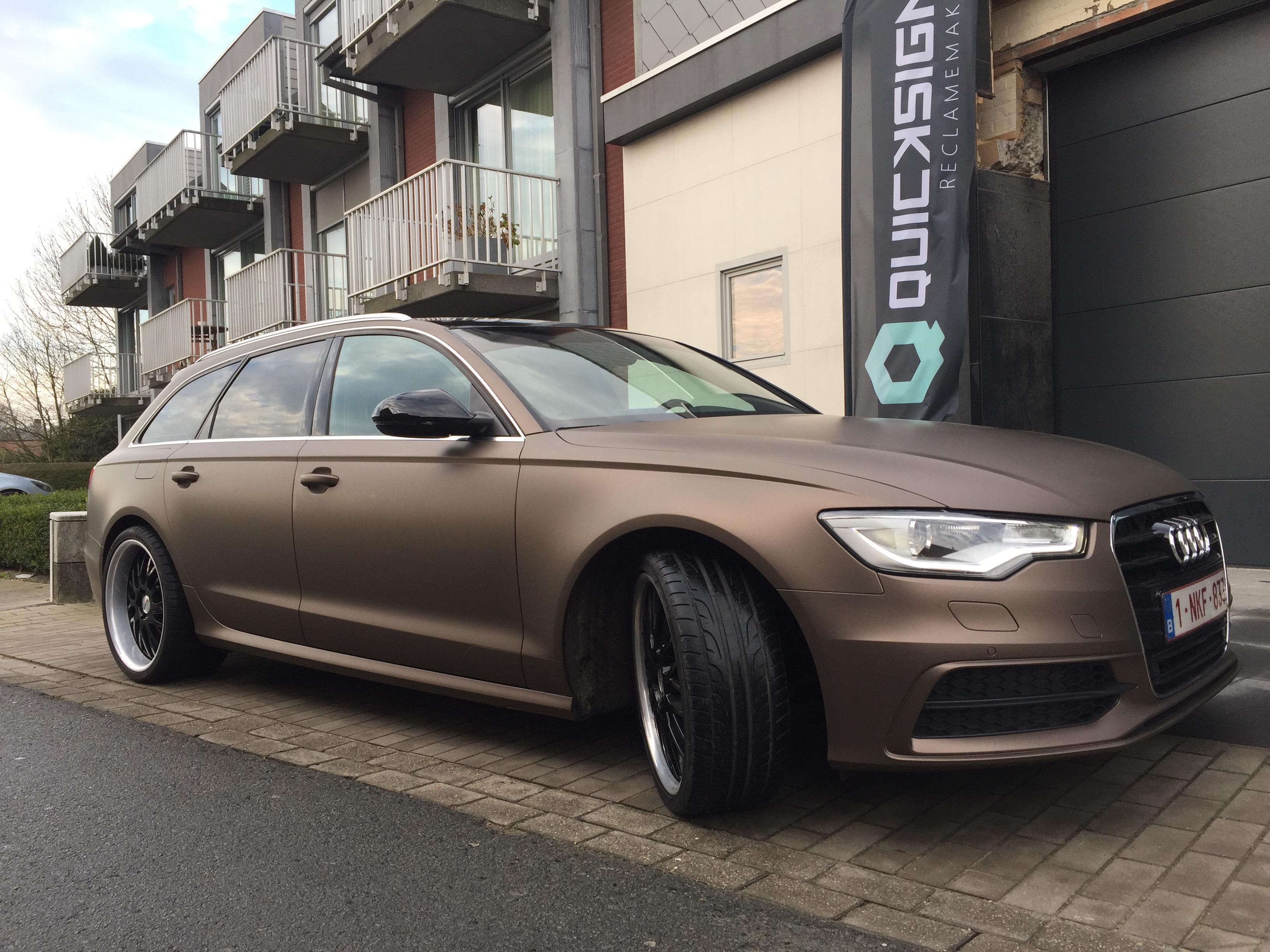 Carwrap Audi A6 3