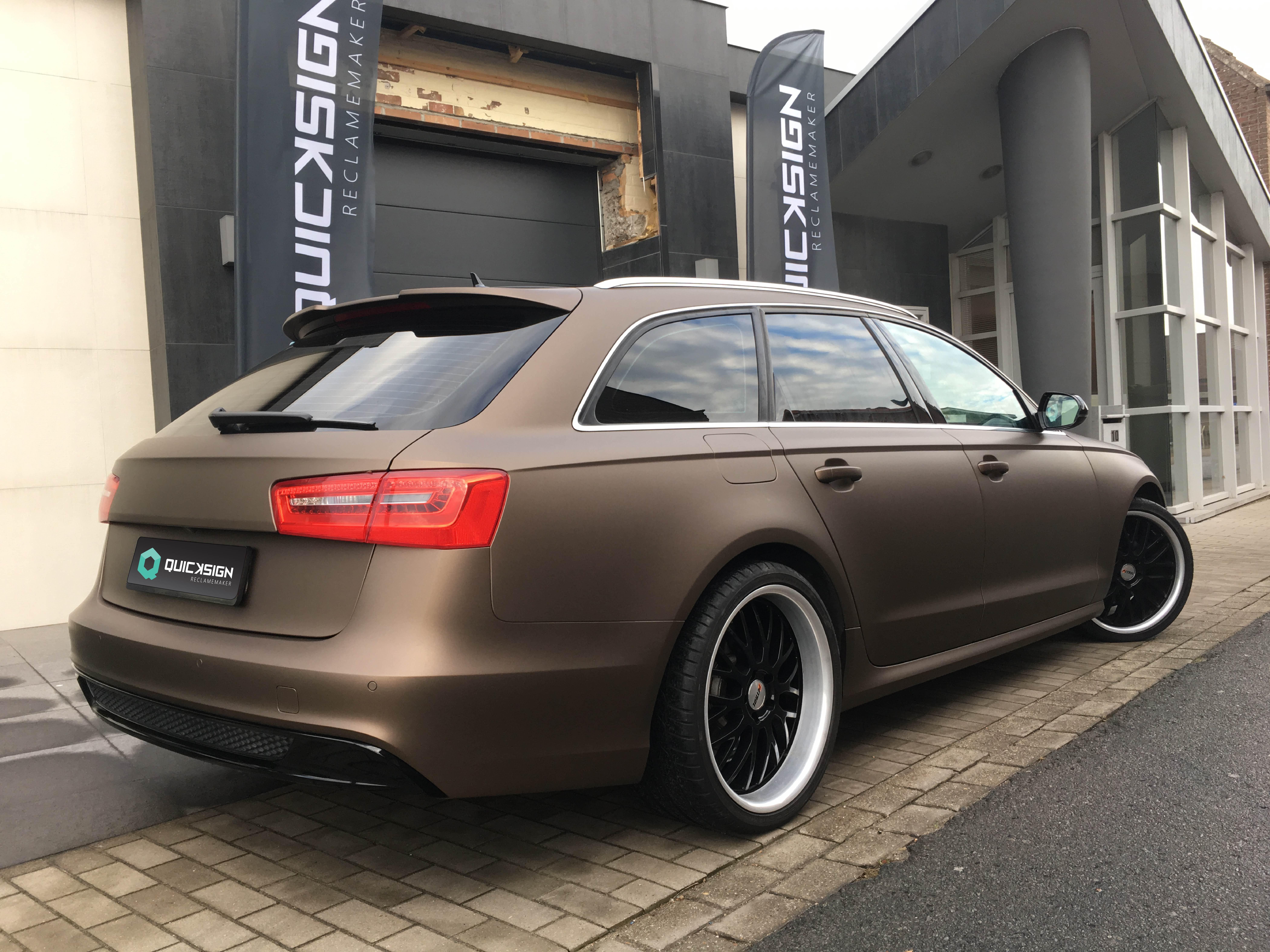 Carwrap Audi A6 4