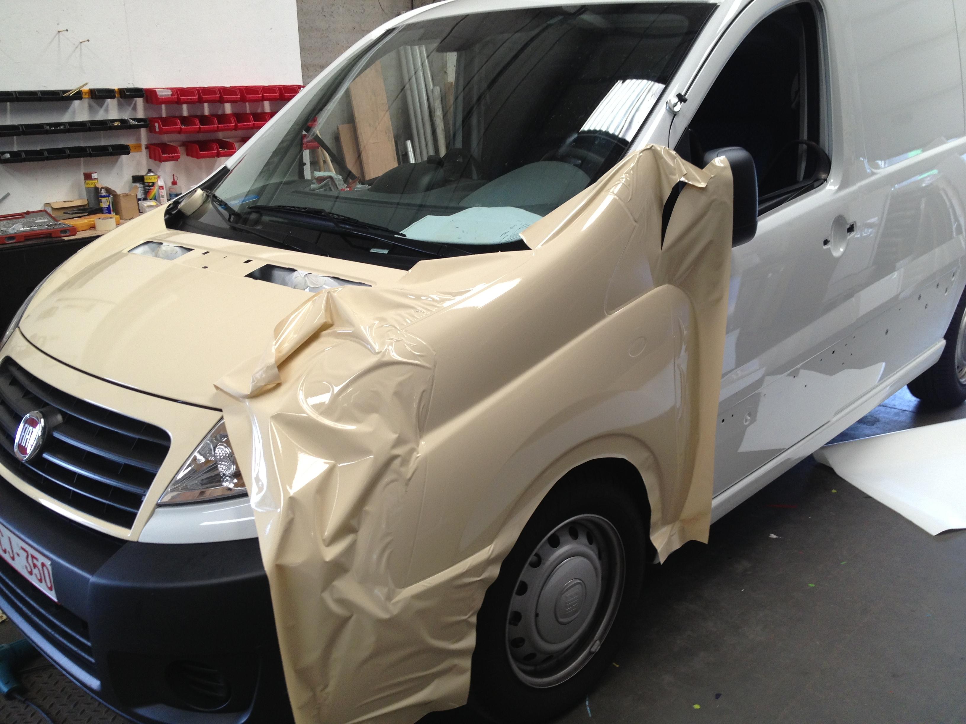 Carwrap Fiat Skudo 1