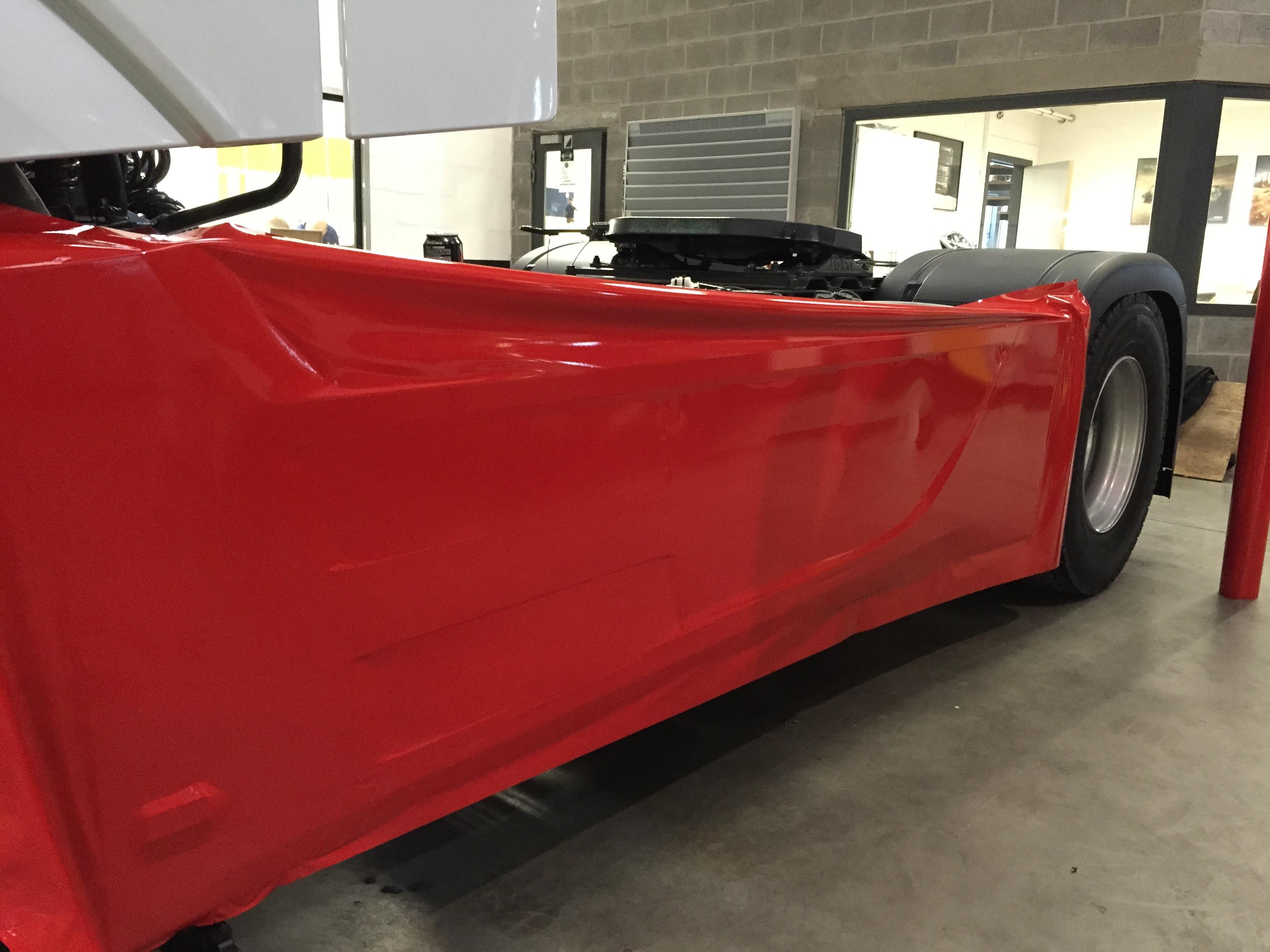 Carwrap - Mercedes Actros 3