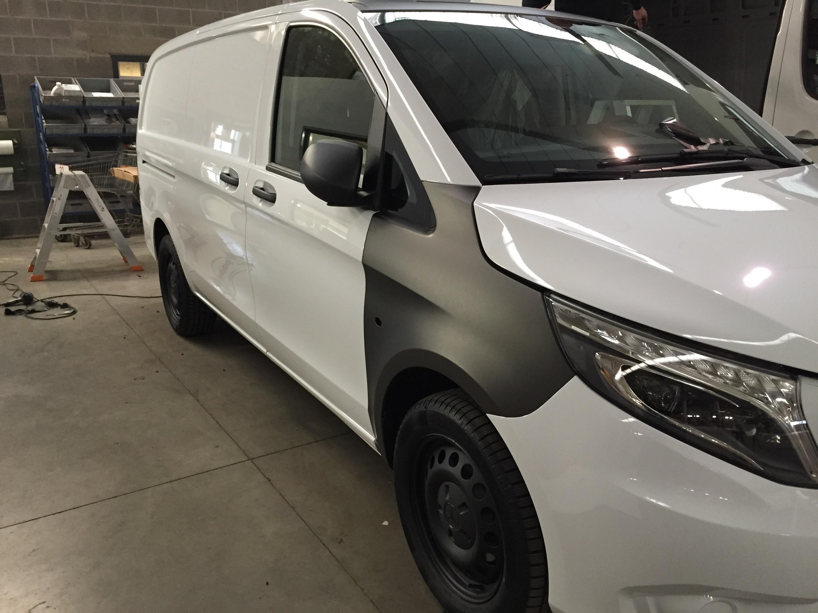 Carwrap - Mercedes Vito 1