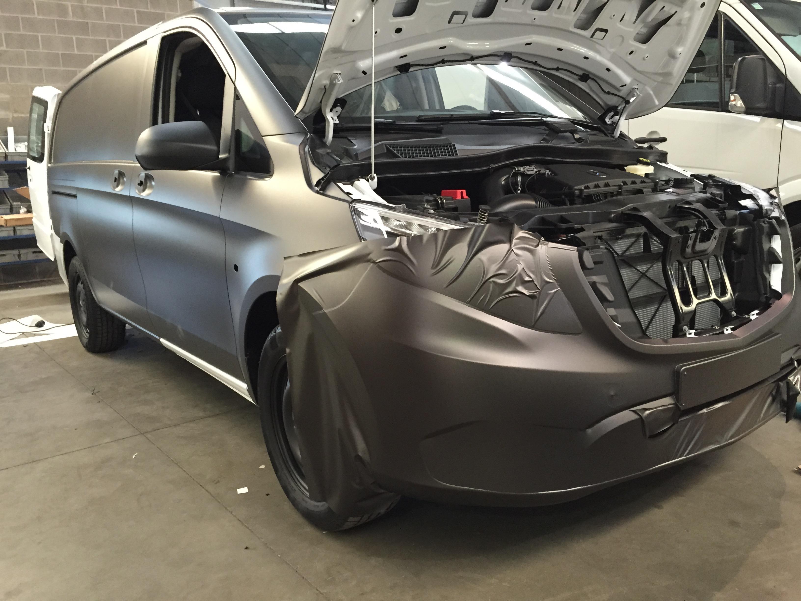 Carwrap - Mercedes Vito 3