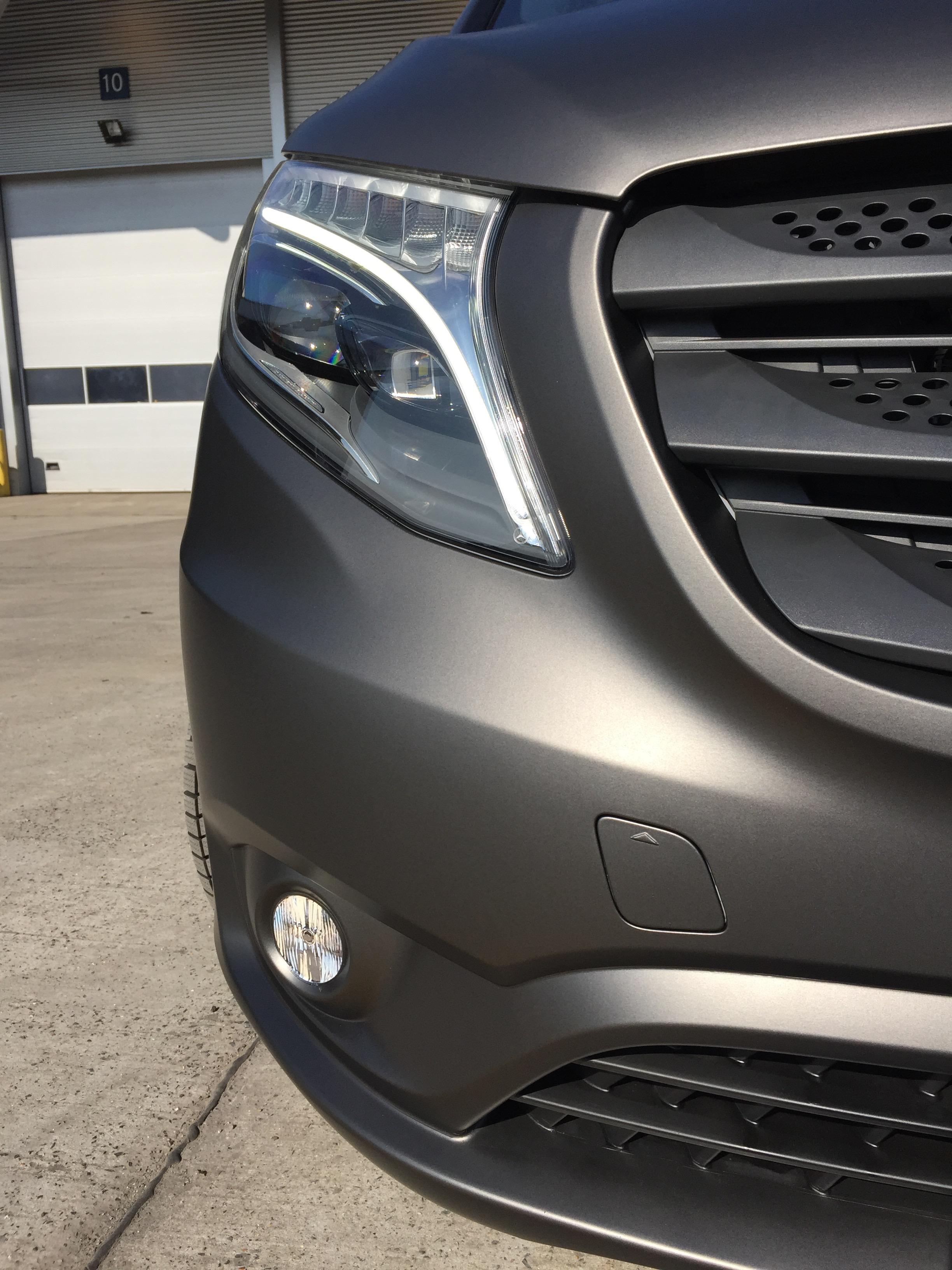 Carwrap - Mercedes Vito 6