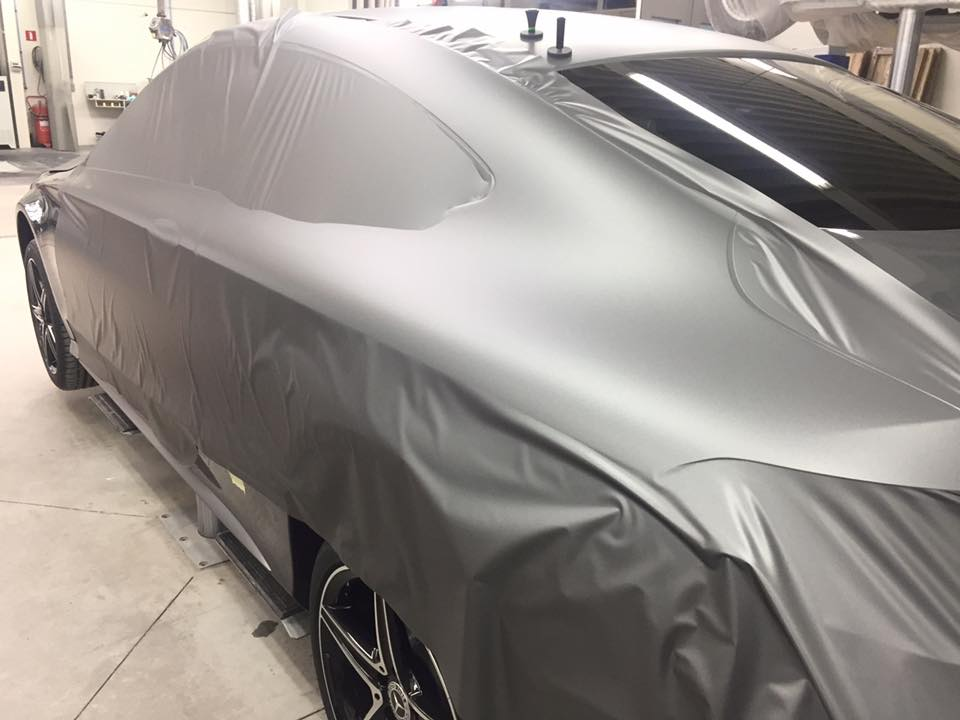 Quicksign Carwrapping Mercedes