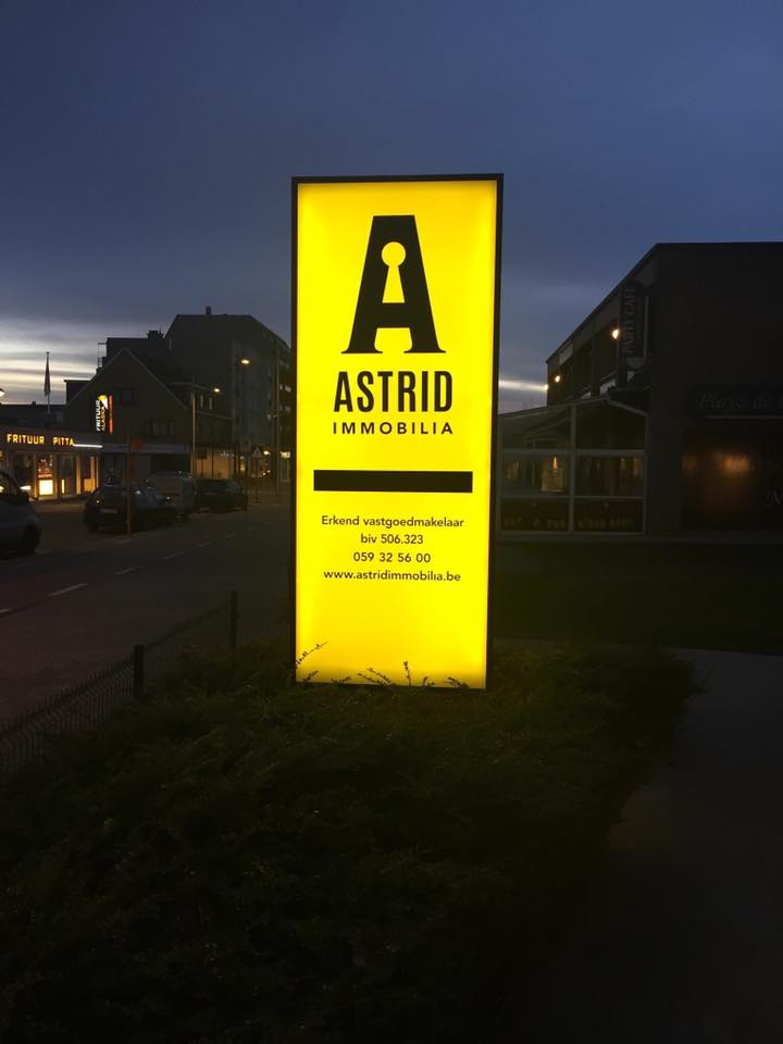 Quicksign Lichtreclame Astrid