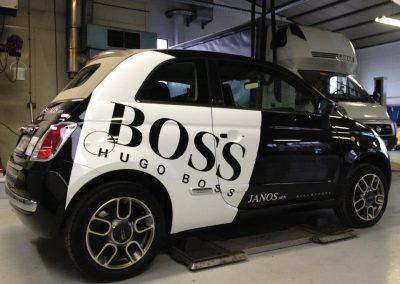 Wagenbelettering Boss