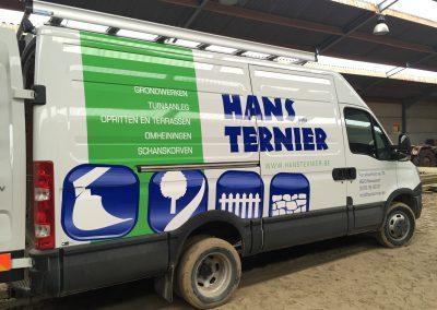 Wagenbelettering Hans Ternier