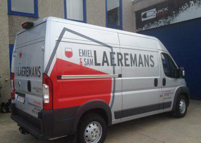 Wagenbelettering Laeremans