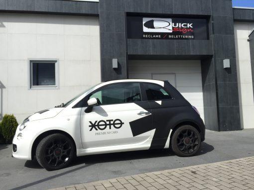 Wagenbelettering – Xoto