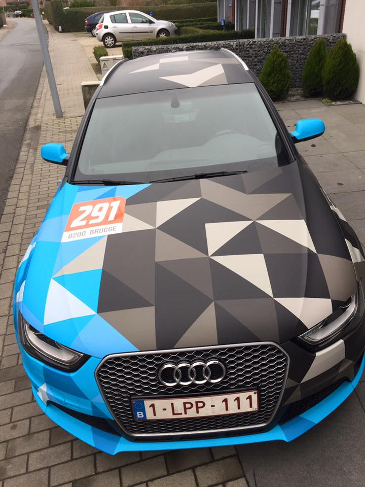 carwrapping audi RS4 5
