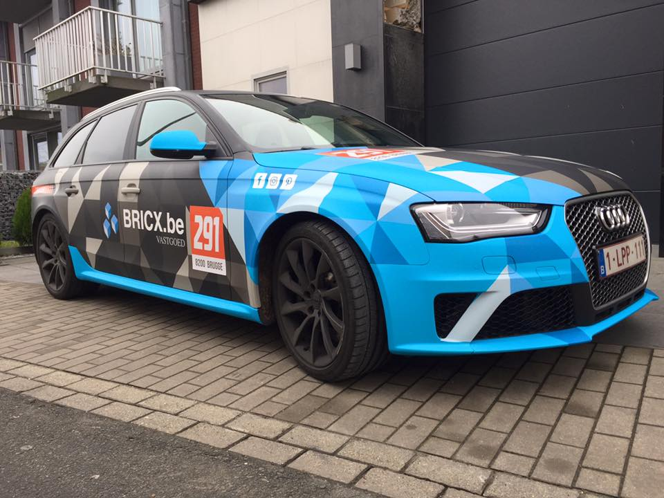 carwrapping audi RS4 7