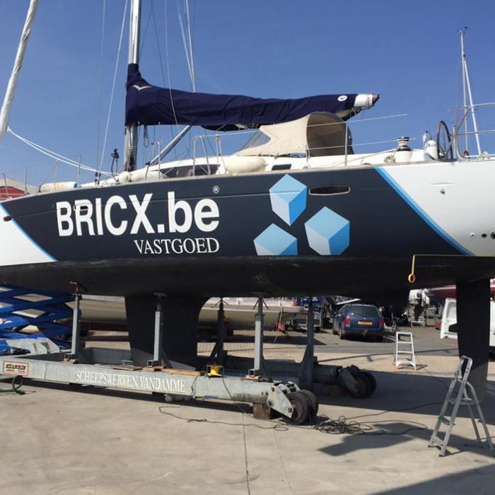 Quicksign boatwrap