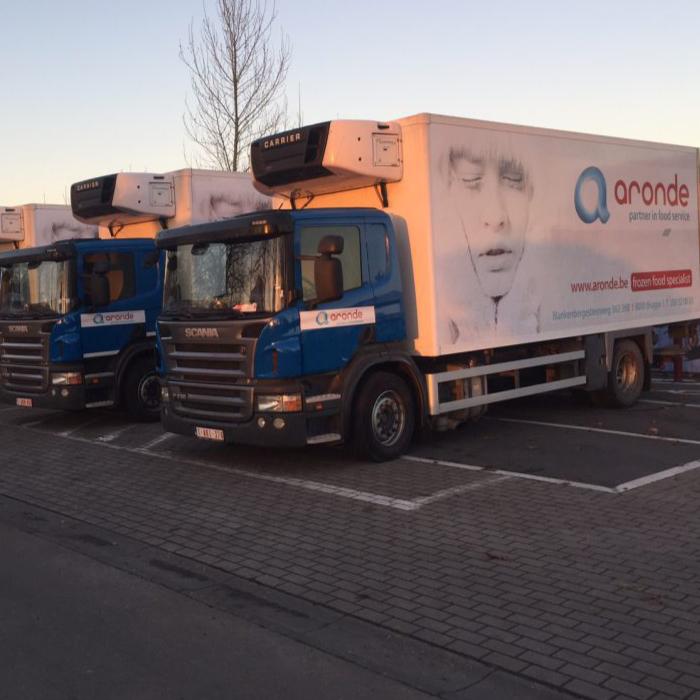 Quicksign voertuigreclame belettering vrachtwagen