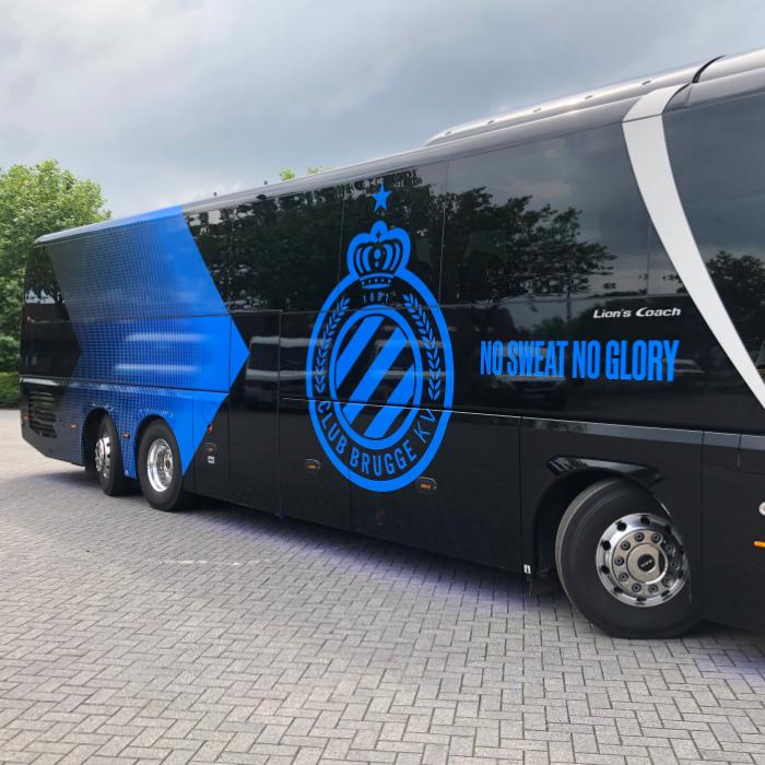 Quicksign voertuigreclame autobussen