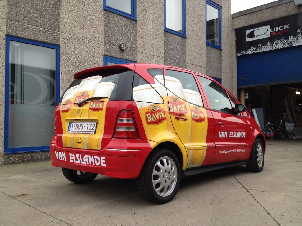 Carwrapping – Mercedes A classe