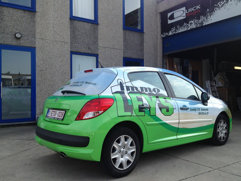 Carwrapping – Peugeot 207