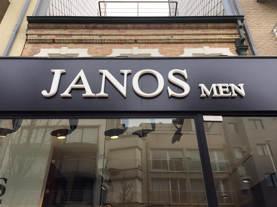 Quicksign 3D letters Janos men