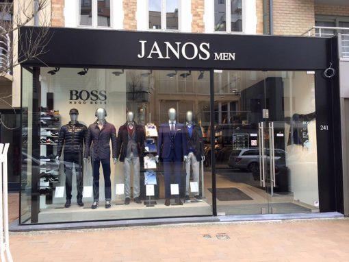 3D letters Janos Men