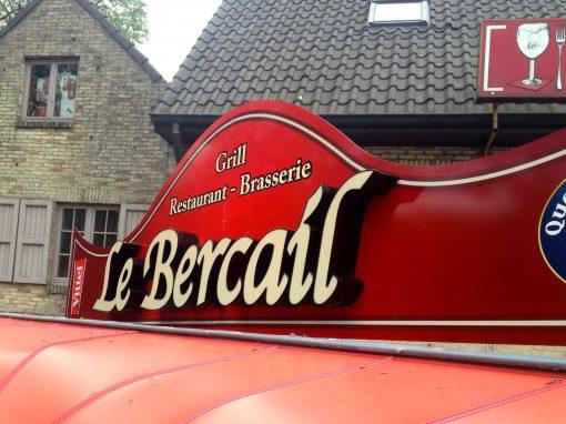 3D letters – Le Bercail