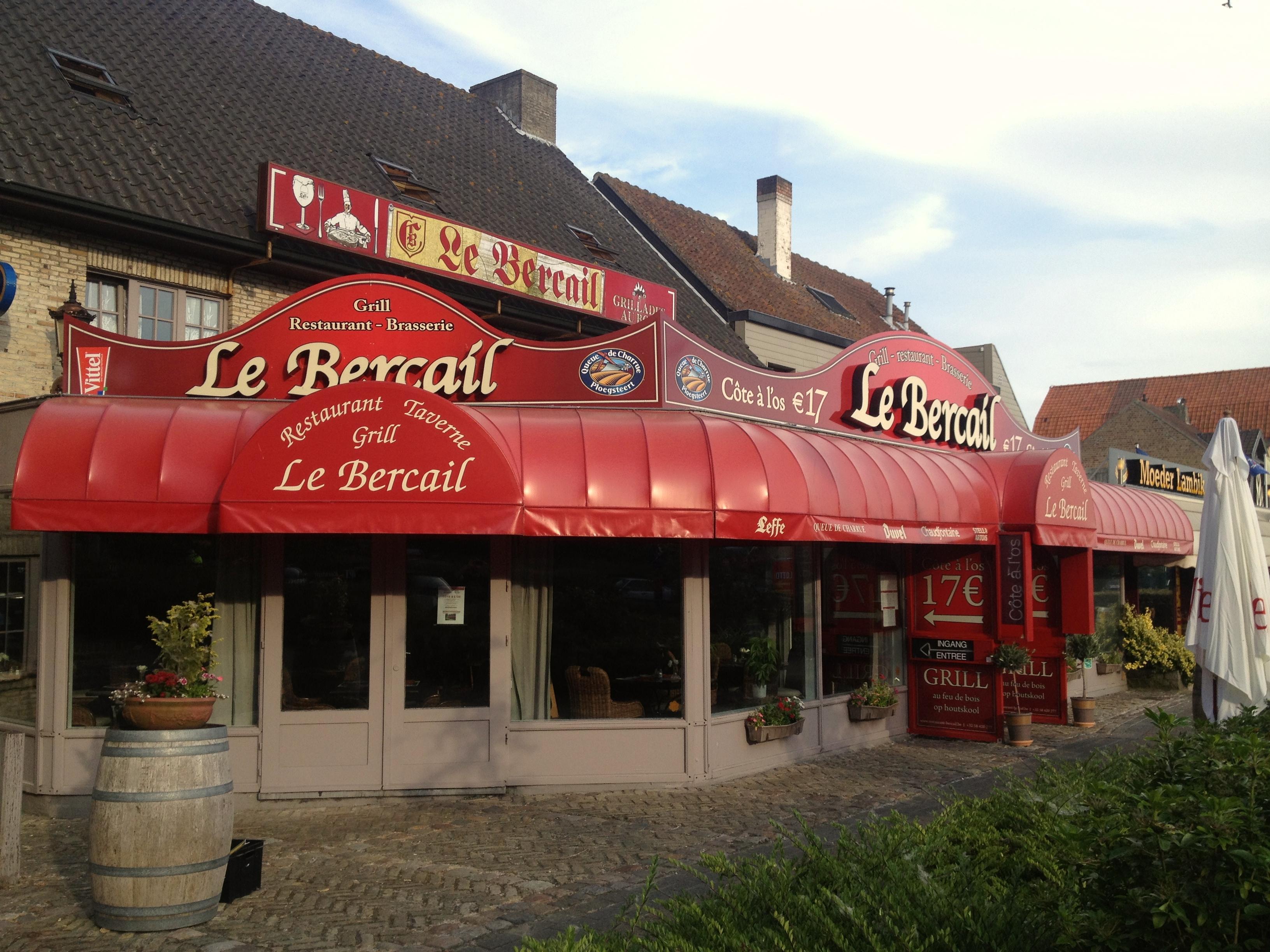 3D letters Le Bercail 2