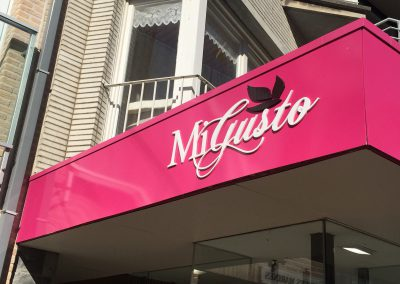 3D letters MiGusto