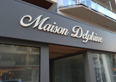 3D letters maison Delphine