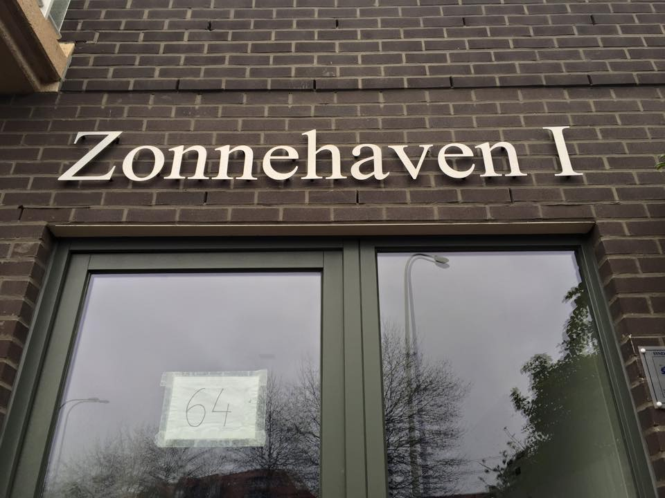 Quicksign 3D letters zonnehaven