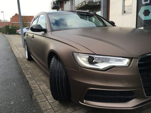 Carwrap – Audi A6