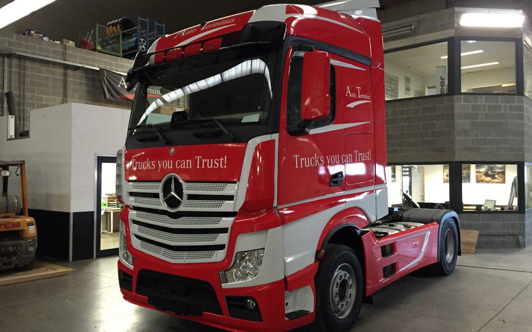 Carwrap – Mercedes Actros