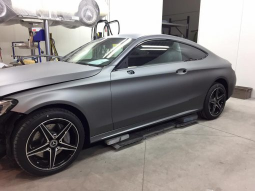 Carwrapping Mercedes