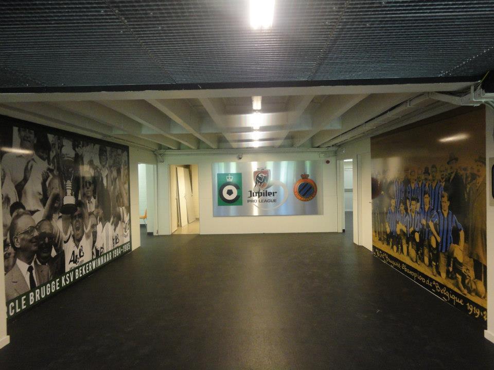 Quicksign - Interieur Club Brugge