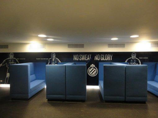 Interieur & muurprints – Club Brugge