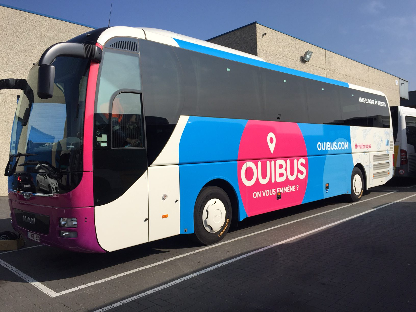 Wagenbelettering ouibus quicksign for Ouibus interieur