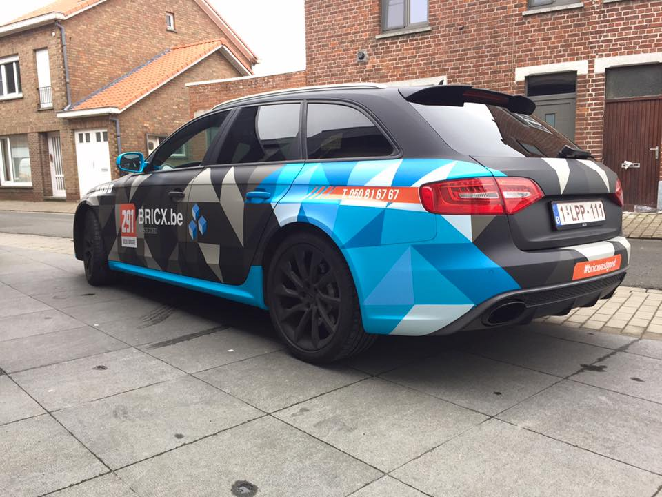 carwrapping audi RS4 2