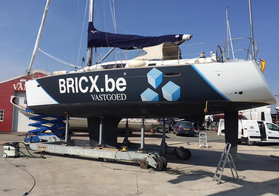 Wrapping – zeilboot Bricx