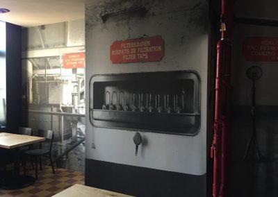 Muurprint bar
