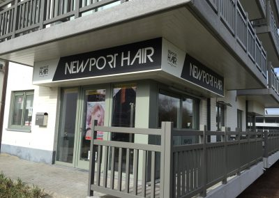 lichtreclame Newport hair